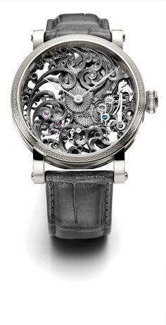 (H) Grieb & Benzinger präsentiert die neue Weissgoldkollektion | Grieb & Benzinger | Zeiteisen