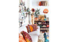 A almofada kilim combina com todos os tipos de decoração (Foto: BR.Pinterest.com.br)