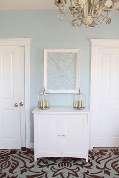 light blue paint color