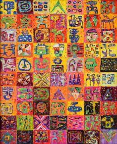 "Saatchi Art Artist Krzysztof Pajak; Painting, ""Testa Rossa"" #art"