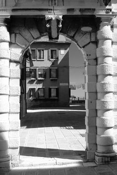 """Arco Inutile - Calle Sagredo From """"The Useless Arch"""""""
