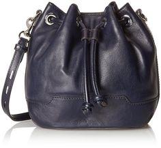 Rebecca Minkoff Mini Fiona Bucket Cross Body Bag, Midnight, One Size