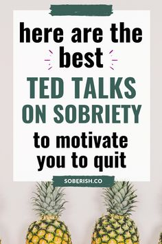 We all love Ted Talks! If you're looking to get sober and change your relationship with alcohol, these seven Ted Talks are some of the very best! They'll motivate you to take the next step towards quitting alcohol. Sober Quotes, Sobriety Quotes, Quotes Quotes, Sobriety Gifts, Loss Quotes, Quit Drinking Alcohol, Quitting Alcohol, How To Quit Alcohol, Alcohol Help