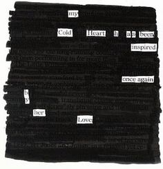 Science Notebooking, Teaching, and Technology: Blackout Poetry with Google Docs and Drawings