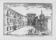 Piazzetta delle Galline (Pasquee di Gajnn), nei pressi di piazza Cordusio (Marc'Antonio Dal Re, 1745). Non ne rimane più nulla. L'oratorio di san Cipriano (o s. Simplicianino), soppresso dall'imperatore Giuseppe II, è stato demolito nel 1786; i palazzi a fine '800.
