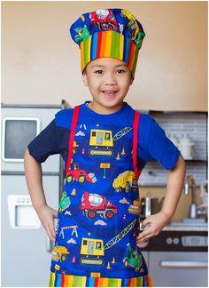 Child Apron Pattern, Apron Pattern Free, Pdf Sewing Patterns, Sewing Aprons, Sewing Toys, Sowing Crafts, Cool Aprons, Chef Apron, Apron Designs