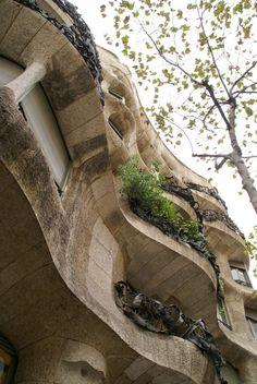 Barcelona-Casa Mila (La Pedrera) by Gaudgb-707