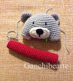 Crochet Baby Toys, Crochet Animals, Knit Crochet, Pokemon Crochet Pattern, Amigurumi Patterns, Crochet Backpack, Christmas Crochet Patterns, Baby Rattle, Christmas Toys