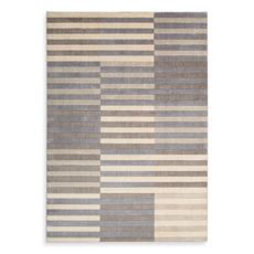 """Kenneth Cole Reaction Home Urban Stripe 5' 3"""" x 7' 5"""" Multicolored Area Rug - Bed Bath & Beyond $199.99"""