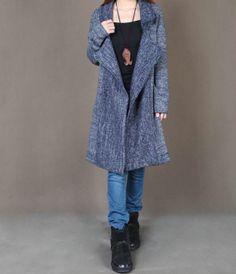 Knitwear for Women Cardigan Sweater Coats Long by UniqueMaxiDress, $65.00