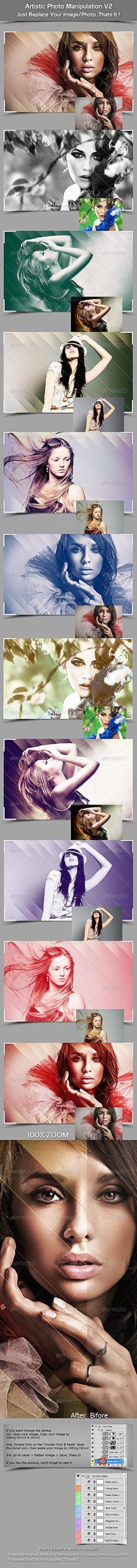Artistic Photo Manipulation V2