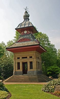 The Pagoda at Alexandra Park, Oldham, England. Alexandra Park, Beach Place, Miles To Go, Yurts, Our World, Woodcarving, British Isles, World Traveler, Beautiful Islands