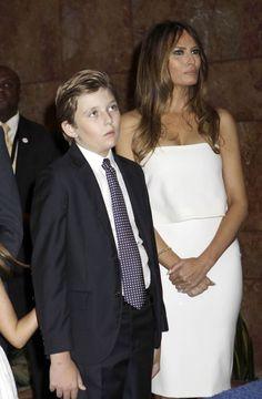 USA : Son fils Barron est-il autiste ? Melania Trump sort les griffes !