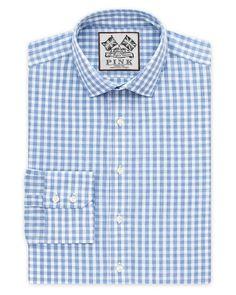 Thomas Pink Bailey Check Dress Shirt - Regular Fit