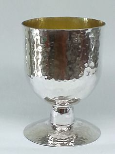 brend new handmade sterling silver cup by STUBSILVERWARE on Etsy