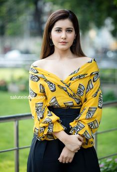 Raashi Khanna latest photoshoot stills - South Indian Actress Photoshoot Pics, Saree Photoshoot, Sonam Kapoor, Deepika Padukone, Western Wear For Women, Bikini Images, Katrina Kaif, South Indian Actress, Priyanka Chopra