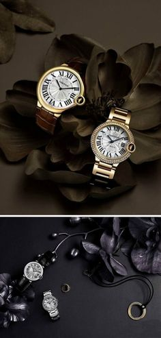 Cartier his-and-her watch