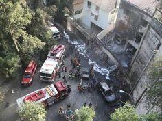 Siete muertos al estrellarse un avión en Brasil dos niños están entre las víctimas