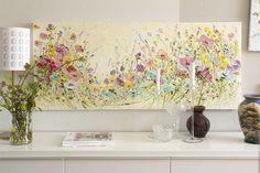 Large Original Oil Painting Impasto Palette Knife Colorful