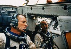 Astronauts Ed White and Jim McDivitt - Gemini 4