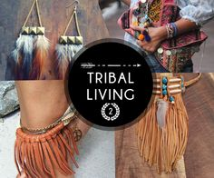 Feathers and Fringes portray the free style living of the tribal. Its best thing tribal living can offer. #FreeSpirit #SS15 #TribalMix