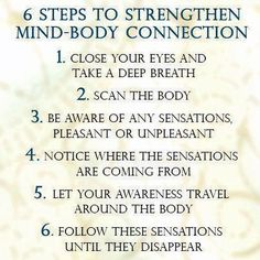6 Steps to Strengthen Mind-Body Connection