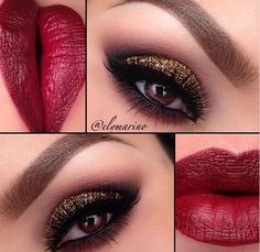 Amazing Makeup & I love the Passion Red Lips!