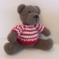 Crochet Pattern for Teddy Bear