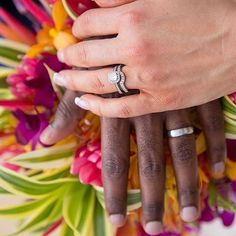 We love this colorful shot (and those rings)! Congratulations, @ jheald_tiu. #BrilliantEarth