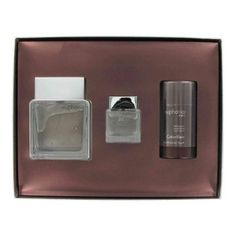 Euphoria by Calvin Klein - Gift Set -- 3.4 oz Eau De Toilette Spray + 2.6 oz Deodorant + .5 oz Travel size splash in Gift Box by Calvin Klein. $51.63. The product is original, authentic name-brands in retail packaging. We do not sell testers, imitations or flawed products.. This extraordinary fragrance was created by Calvin Klein, in 2006. Its amazing scent includes the mixture of ginger pepper, patchouli, and suede.. Save 39% Off!
