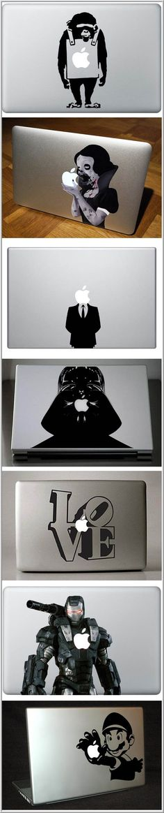 Crеаtive MacBook Stickers III