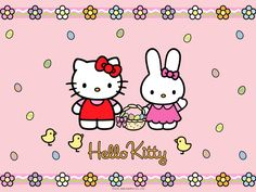 Hello Kitty and Friends Wallpaper For Ios 7