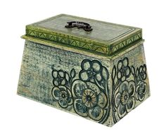 Green Wooden Keepsake Box with Hand Carved Floral Design, 9 x 6 x 6 inches >>> Insider's special review you can't miss. Read more  : Home Decorative Accessories