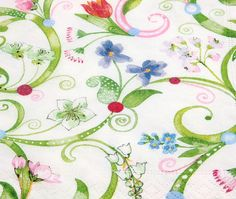 Napkin serviette for decoupage x 1  Fresh summer by StitchBomb, $0.90