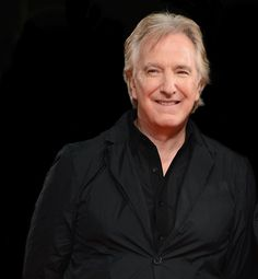 "November 16, 2003 -- Alan Rickman at the ""Love Actually"" UK Charity premiere .... I think"