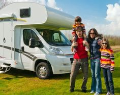 Family vacation trip in motorhome. Family vacation in camping. Motorhome, Rv Insurance, Rv Rental, Rv Travel, Rv Life, Holiday Travel, Holiday Trip, Camper Van, Travel With Kids