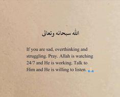 Quran Quotes Inspirational, Quran Quotes Love, Islamic Love Quotes, Muslim Quotes, Religious Quotes, True Quotes, Qoutes, Motivational, Reminder Quotes