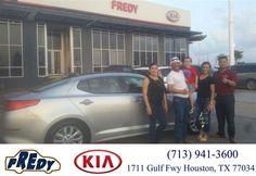 https://flic.kr/p/GmfYf1 | #HappyBirthday to Mauro from Ana Ramos at Fredy Kia! | deliverymaxx.com/DealerReviews.aspx?DealerCode=OLRT