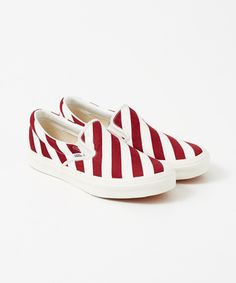 FREEMANS SPORTING CLUB FSC×VANS STRIPE SLIP ON - URBAN RESEARCH ONLINE STORE