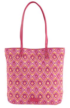 9a233420dc27 Day Tote in Clementine Ikat (inspired by Clementine!)