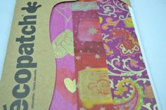 3pk Decopatch Tissue Paper - Assorted Pack - Pink, Red, Gold, Patterns #107 3 sheets of decoupage/paper mache/collage paper.