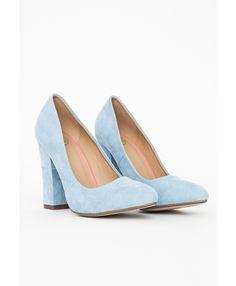 Powder Blue High Heels