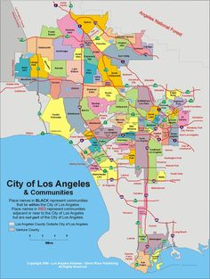 La Los Angeles City Map Before you call a AC repair man visit my blog for some tips on how to save thousands in ac repairs. Go here: www.acrepaircarrollton.net/