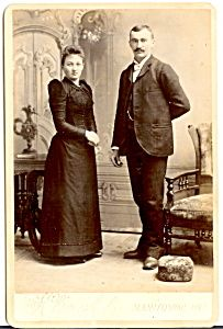 Cabinet Photo:  Wisconsin Wedding Picture?