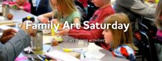 Utah Museum of Contemporary Art Family Art Saturdays.  Drop in the second Saturday of each month from 2-4 for a variety of free art-making activities.