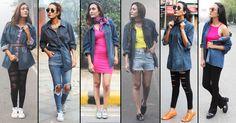1 Denim Shirt - 6 Different Styles #denim #love