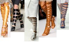 Trend To Try: Gladiator Sandal Boots (Shop 6 To Strap Up Your Gams Like A Greek Goddess)
