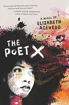 The Poet X by Elizabeth Acevedo. A young girl in Harlem discovers slam poetry as a way to understand her mother's religion and her own relationship to the world. Debut novel of renowned slam poet Elizabeth Acevedo. Ya Books, Good Books, Books To Read, Teen Books, Date, New York Times, Galera Record, Books By Black Authors, Black Books