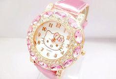 Crystal Diamond Hello Kitty Watch
