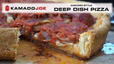 Reall about bbq pizza recipes. Onion Pizza Recipe, Red Onion Pizza, Deep Dish Pizza Recipe, Kamado Grill, Kamado Joe, Pizza Recipes, Grilling Recipes, Gorgonzola Pizza, Prosciutto